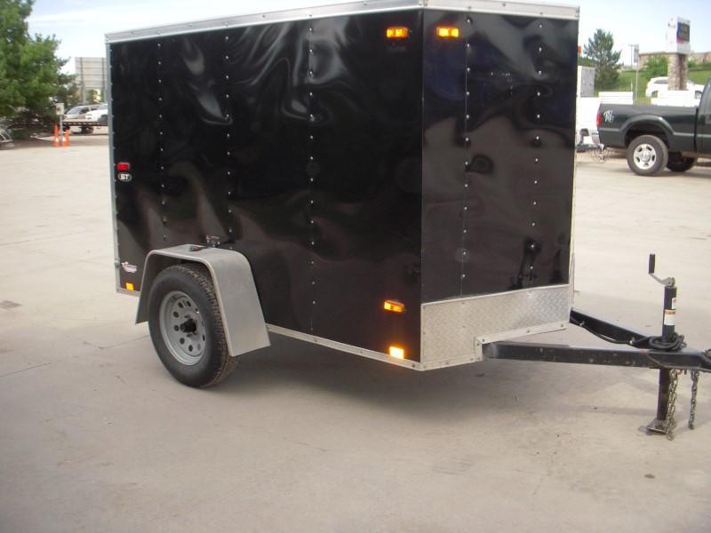 2014 Look 5X8 Enclosed Cargo Trailer