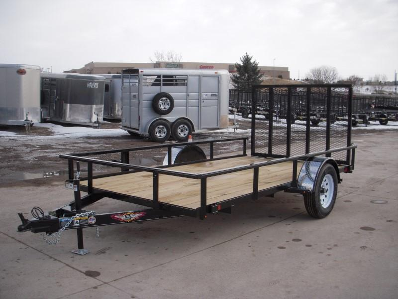 2019 H&H H7612RS-030 Utility Trailer