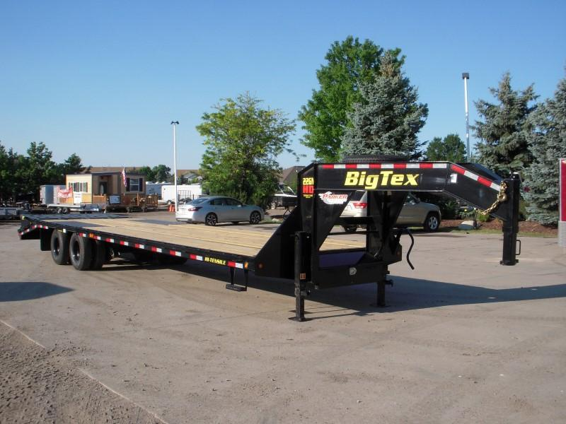 2019 Big Tex Trailers 22GN-28BK+5MR Flatbed Trailer