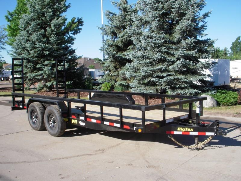 2018 Big Tex Trailers 14PI-18BK5FUR Utility Trailer