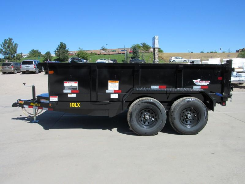 2020 Big Tex Trailers 10LX-12BK7SIR Dump