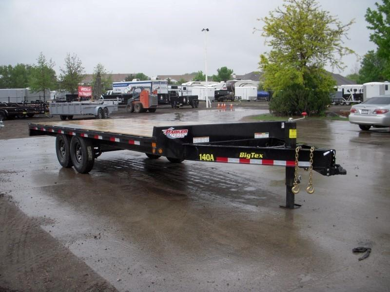 2019 Big Tex Trailers 14OA-20BK-8SIR Flatbed Trailer