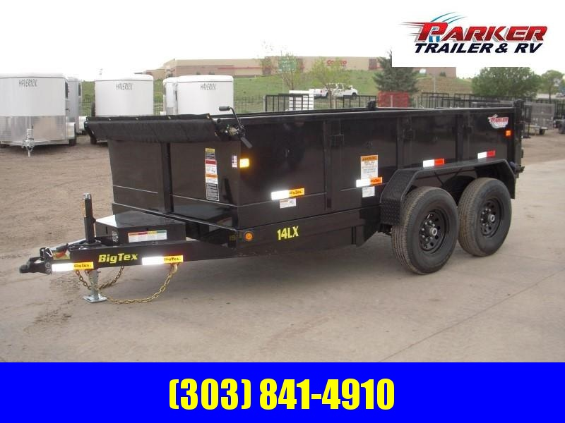 2019 Big Tex Trailers 14LX-12BK7SIRPD Dump