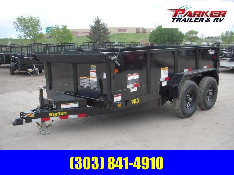 2020 Big Tex Trailers 14LX-12BK7SIRPD Dump