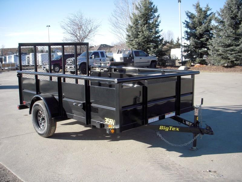 2018 Big Tex Trailers 35SV-10BK Flatbed Trailer