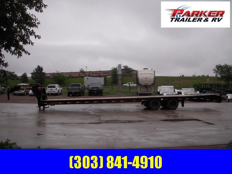 2020 Big Tex Trailers 25GN-35BK+5MR Flatbed Trailer
