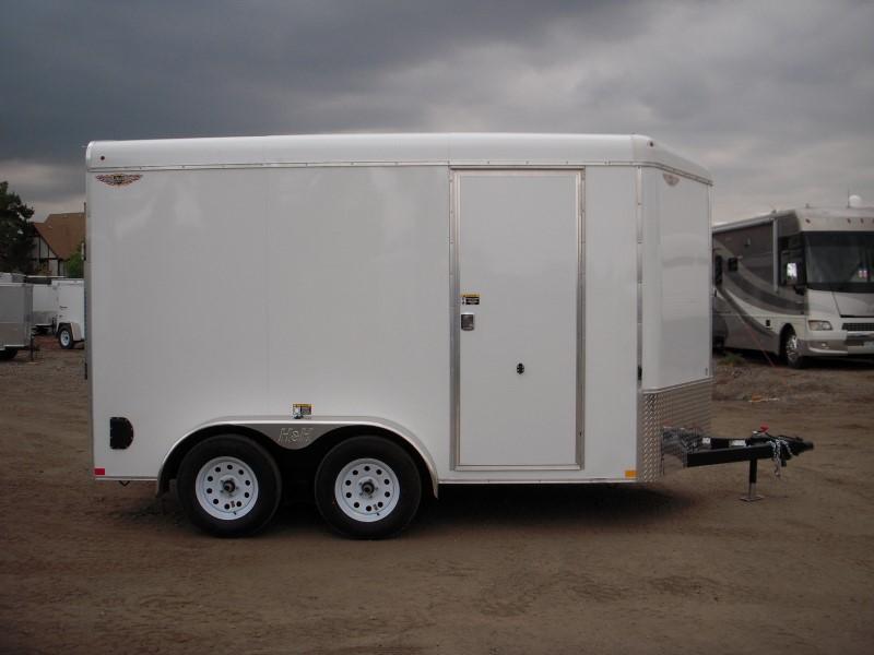 2019 H&H H8412TRTV-070 Enclosed Cargo Trailer