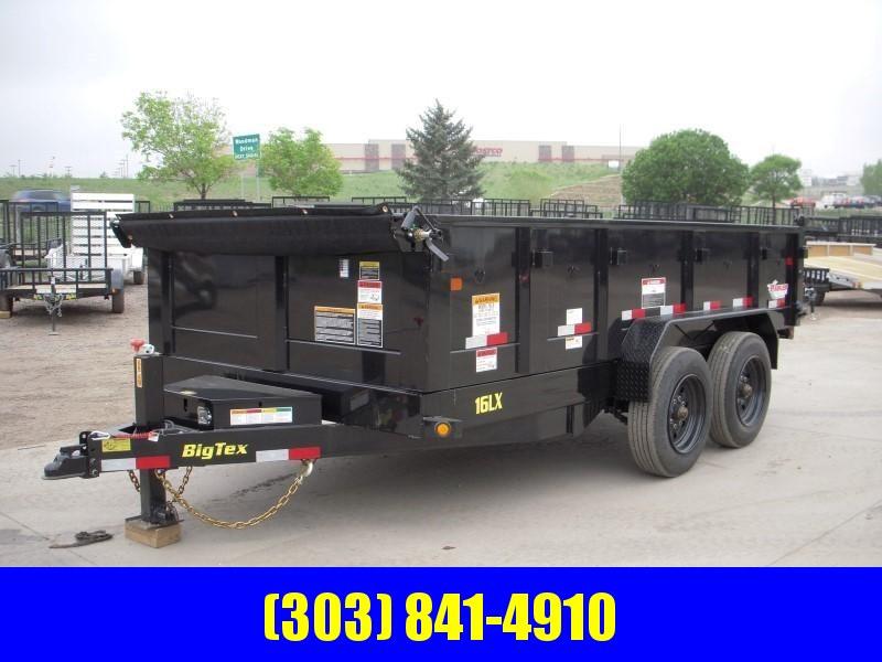 2018 Big Tex Trailers 16LX-14BK7SIRPD Dump
