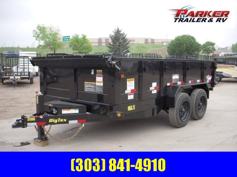 2018 Big Tex Trailers 16LX-14BK7SIRPD Dump