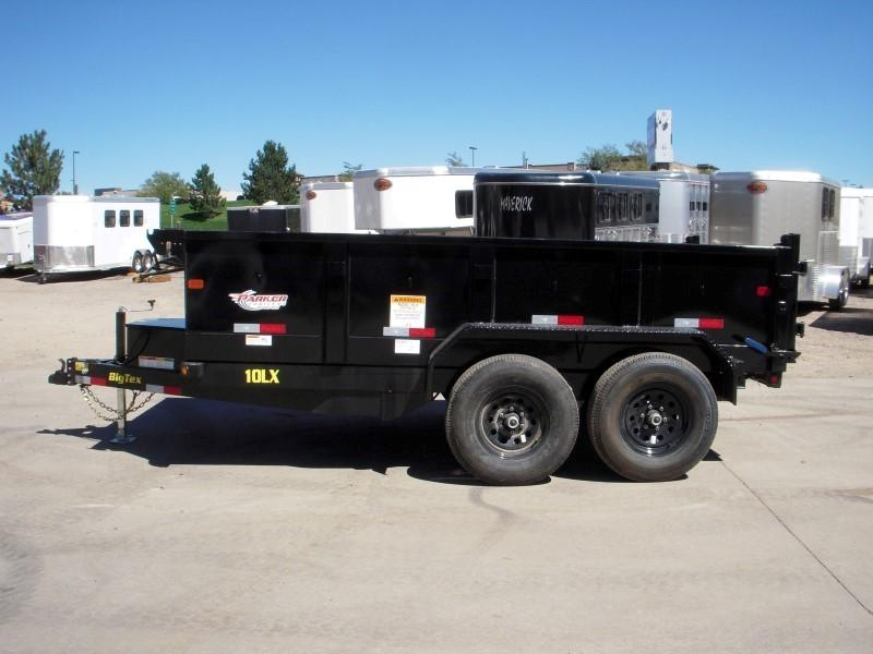 2019 Big Tex Trailers 10LX-12BK7SIR Dump