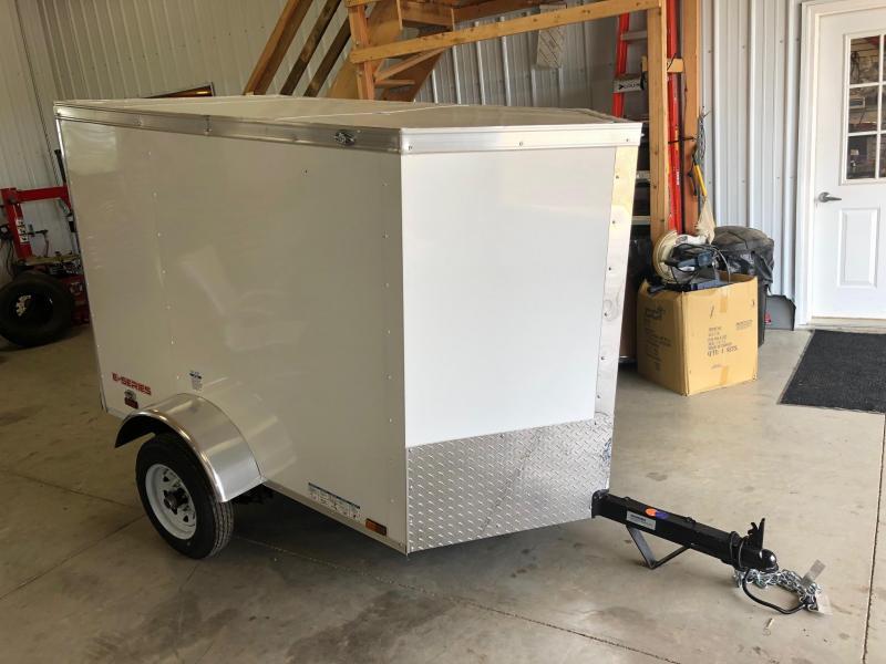 2020 Cargo Mate 4X6 Enclosed Cargo Trailer