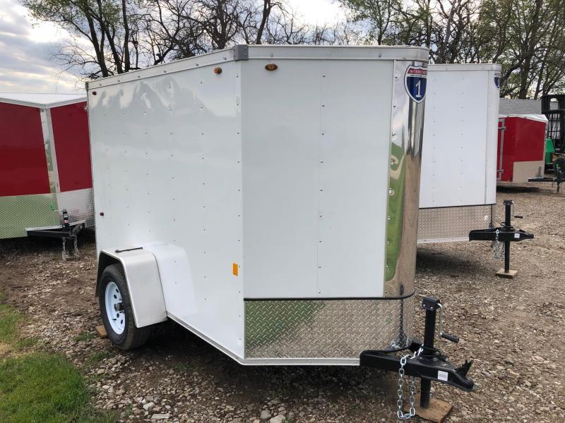2019 Interstate 5X8 Enclosed Cargo Trailer RAMP DOOR | 4 ... on