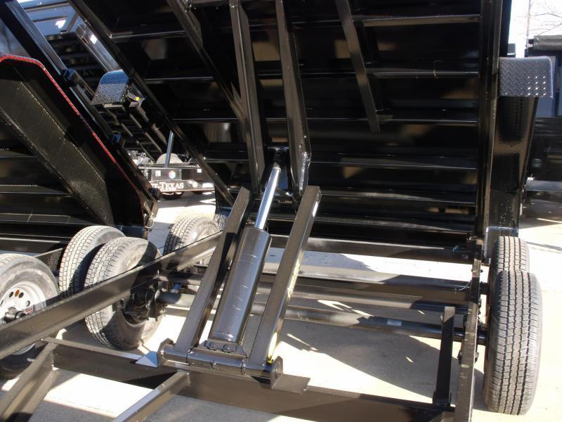 Dump Trailer 77 X 12 Combo Gate GVWR  9995 LBS  (((CASH SAVINGS OPTION HERE)))