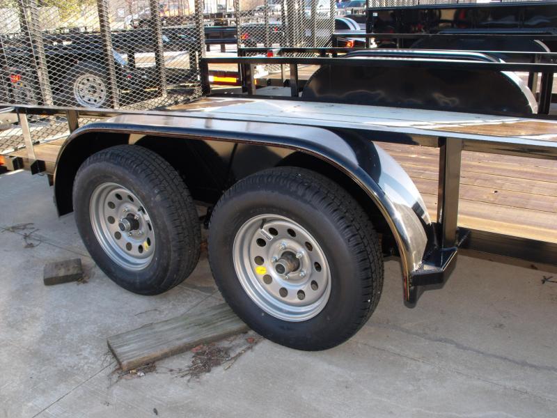 Utility Trailer 83 X 16 Ramp Tandem Axle Ramp And Brakes((CASH SAVINGS OFFER )))