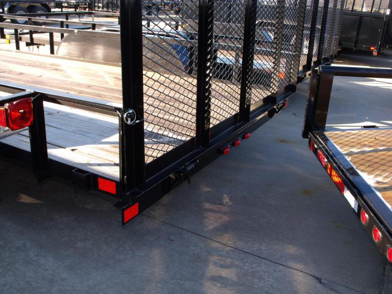 Utility Trailer 83 X 16 Ramp Tandem Axle Ramp And Brakes
