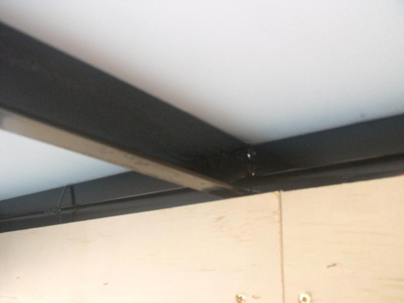 "Enclosed Trailer 5 X 10 Ramp 5' 6"" Interior ALL  Tube Construction"