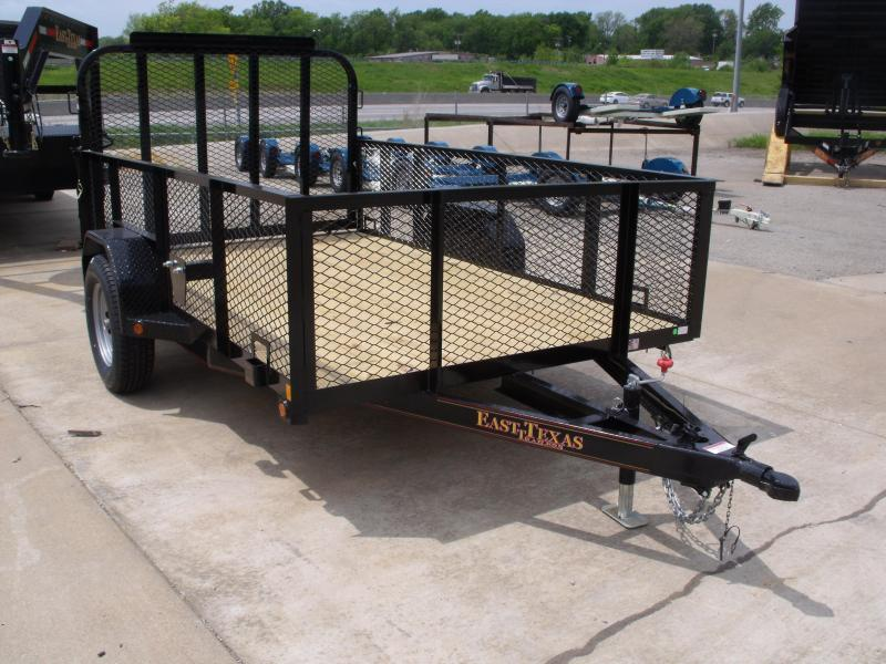 High Wall Landscape Trailer  72 X 10    Utility Trailer