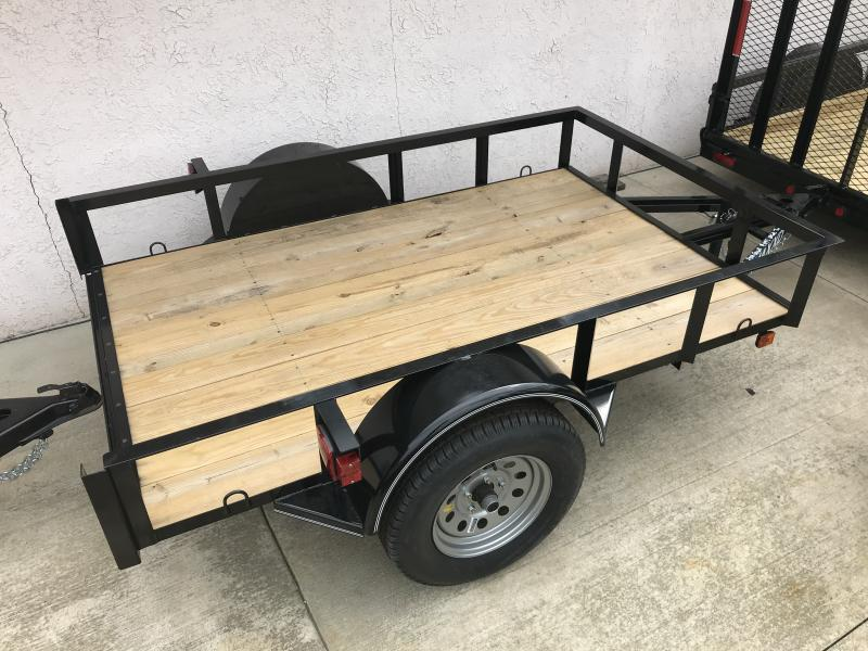 MAXXD 5' X 8' ECONOMY Single Axle Utility Trailer