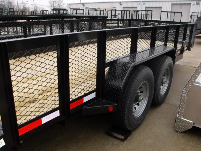 High-Wall Trailer Landscape Trailer 83 X 20 Dove  14000 GVW HD Combo Ramps