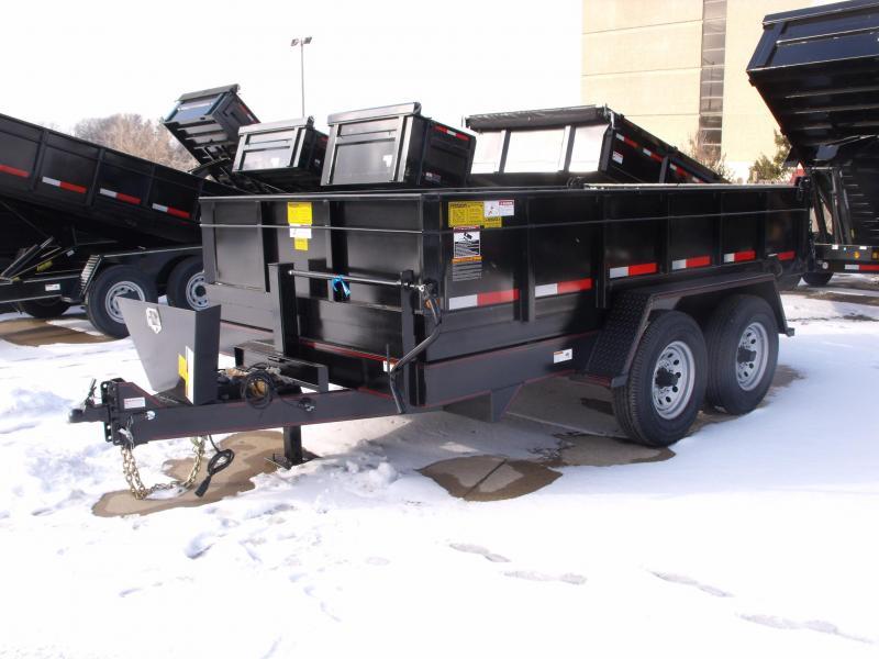 Dump Trailer  82 X 12 Power Up Power Down 14000 GVW