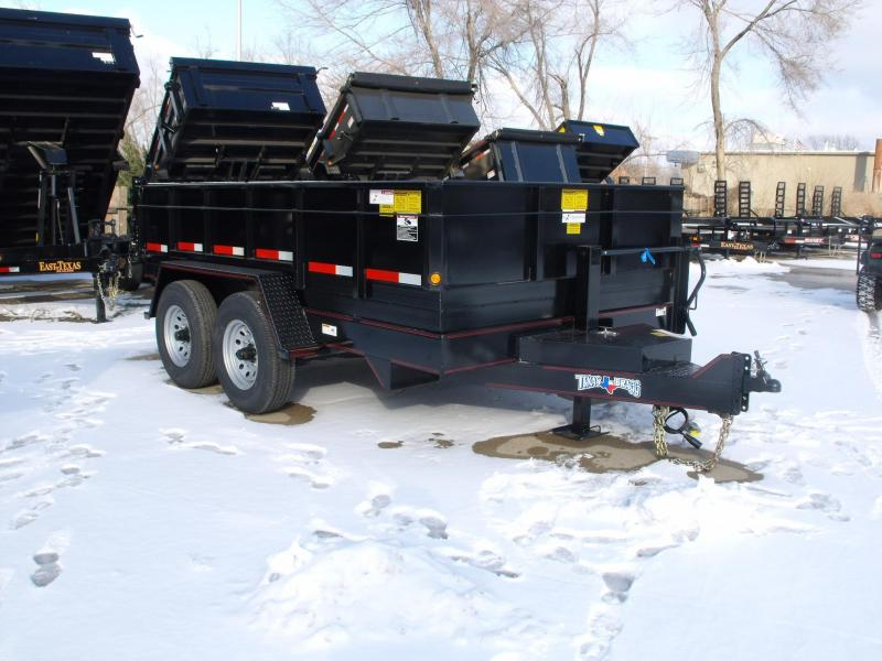 Dump Trailer  82 X 12 Power Up Power Down 14000 GVW