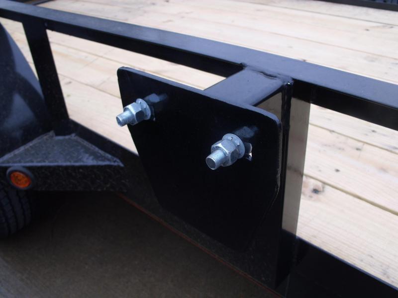 Utility Trailer 5 X 10 Gate Premium Trailer LED's 2990 Axle