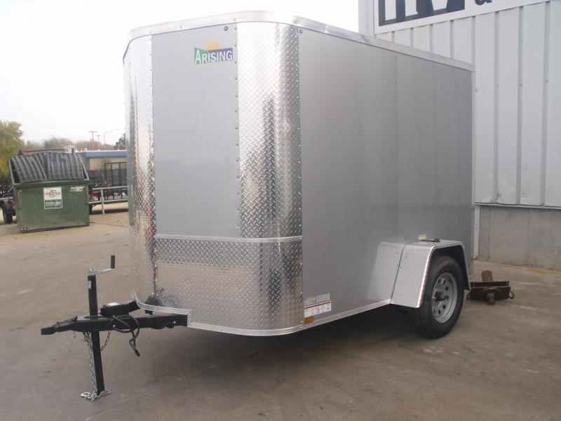 "Enclosed Trailer 6 X 8 Ramp ALL Tubular Construction 6' 3"" Interior Height"