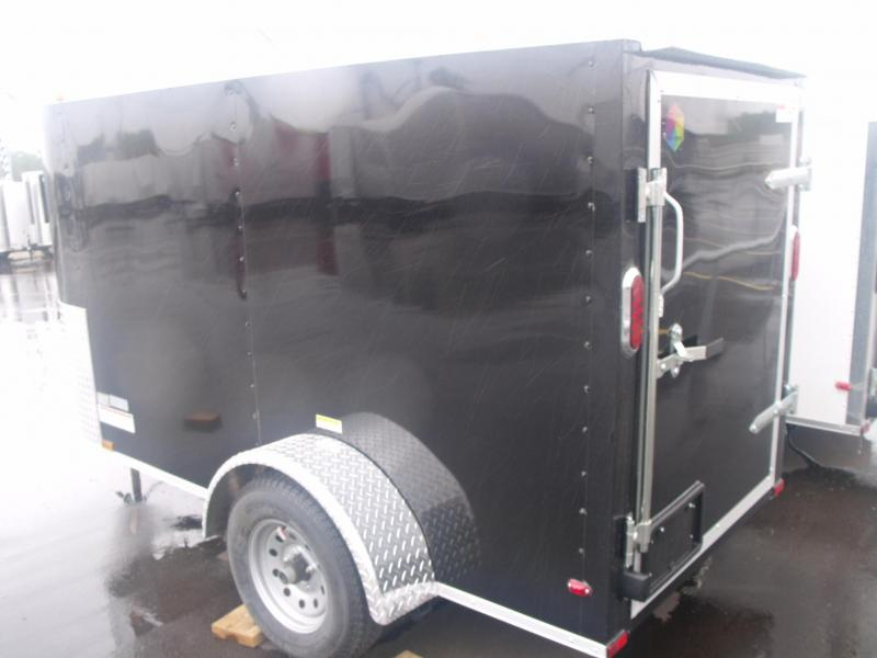"Enclosed Cargo Trailer  4 X 8 Barn Door 4' 6"" Height"