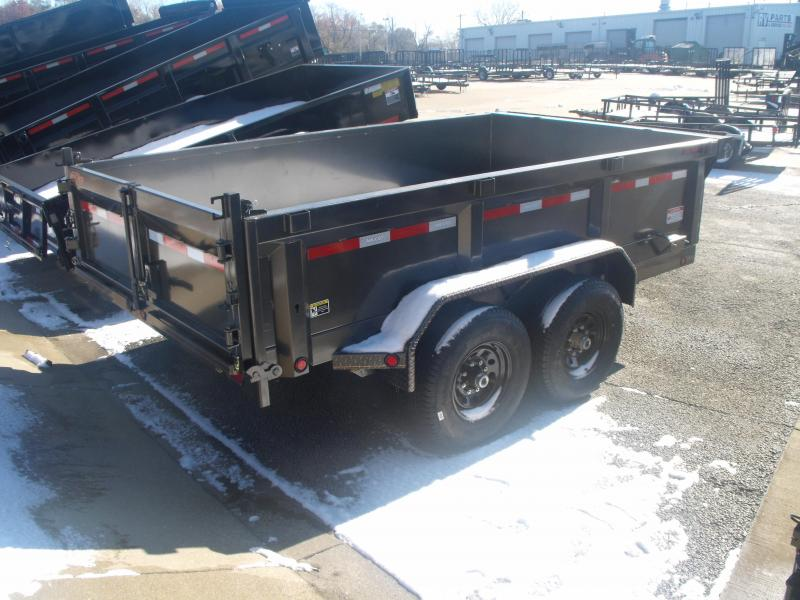 Dump Trailer 83 X 12 MAXXD TUFF SIDE  14000 GVW Ramps