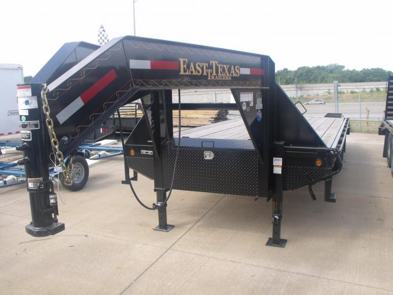 Gooseneck Deckover 8.5 X 20 Equipment Trailer 20K  Cash Savings Option Here