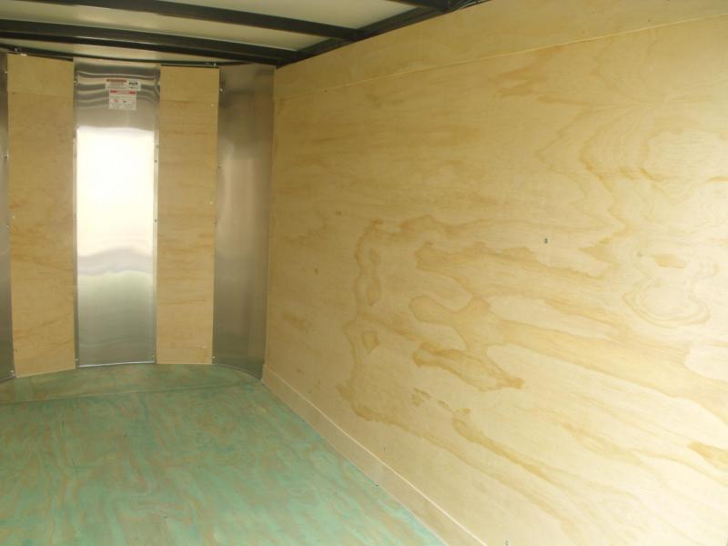 Enclosed Trailer 4 X 8 Barn Door  Med Charcoal In Color