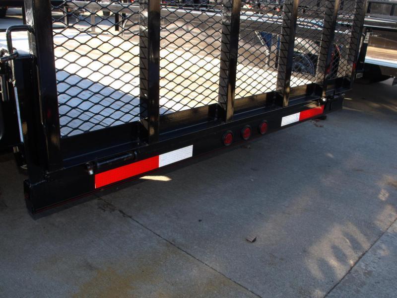 Utility Trailer  77 X 12 Ramp    7000 GVW Brakes
