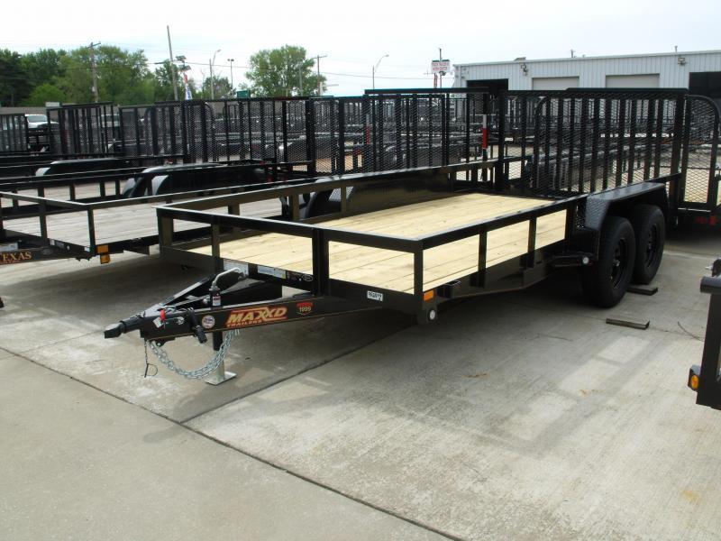 Utility Trailer ATV Trailer 83 X 16  Metal  Dove 4 WL Brakes 7000 GVW