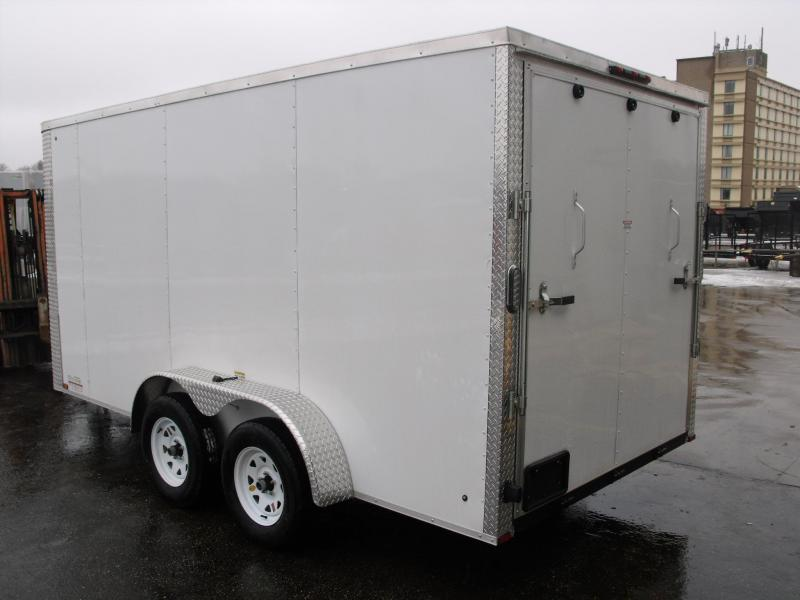Enclosed Trailer 7 X 14 Ramp ALL Tube Construction
