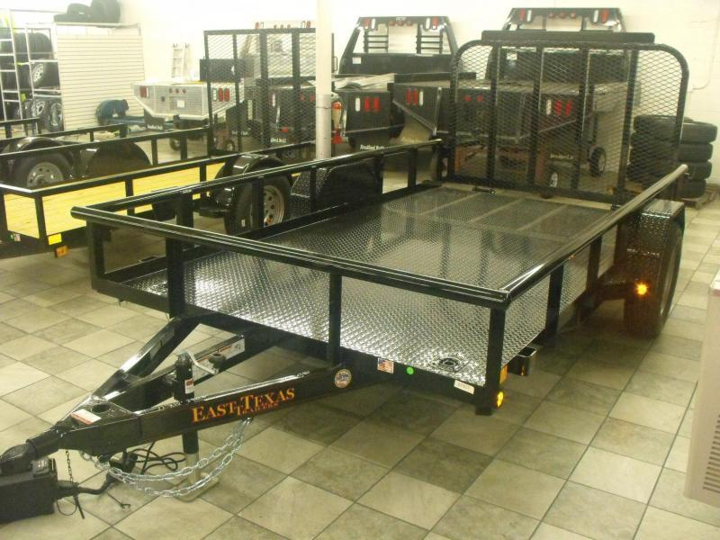 Utility Trailer 77 X 12 Metal Deck Ramp LED Lights Premium Trailer in Ashburn, VA