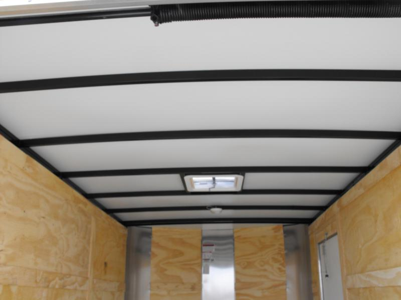 """Enclosed Trailer 7 X 12 Ramp 6' 3"""" Interior Silver Mist In Color ALL TUBE Construction"""