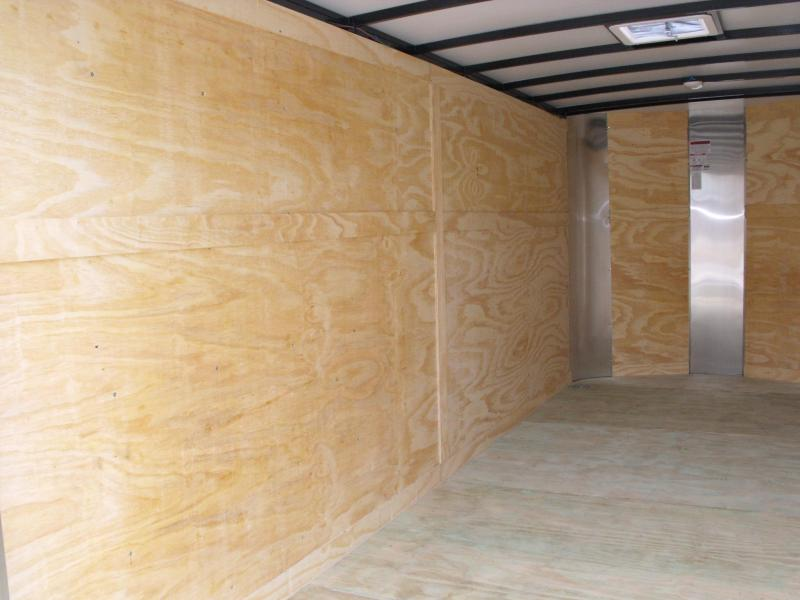 "Enclosed Trailer 7 X 16 Ramp 6' 6"" Interior 7000 GVW ALL TUBE Construction"