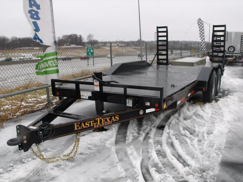 "Equipment Trailer 83 X 18 Steel Deck """" Drive Over Fenders""""  14000 GVW HD Boxed Ramps  in Ashburn, VA"