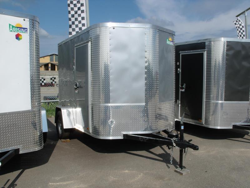 "Enclosed Trailer 6 X 8 Ramp ALL Tubular Construction 6' 3"" Interior Height"