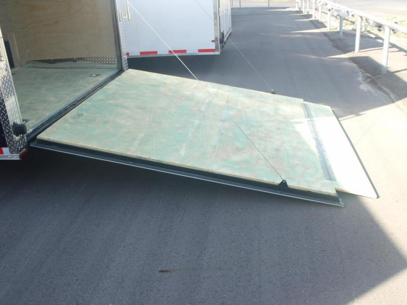 Enclosed Trailer 8.5 X 20 Ramp 7' Interior Dove Tail 050 Skin All Tube Construction