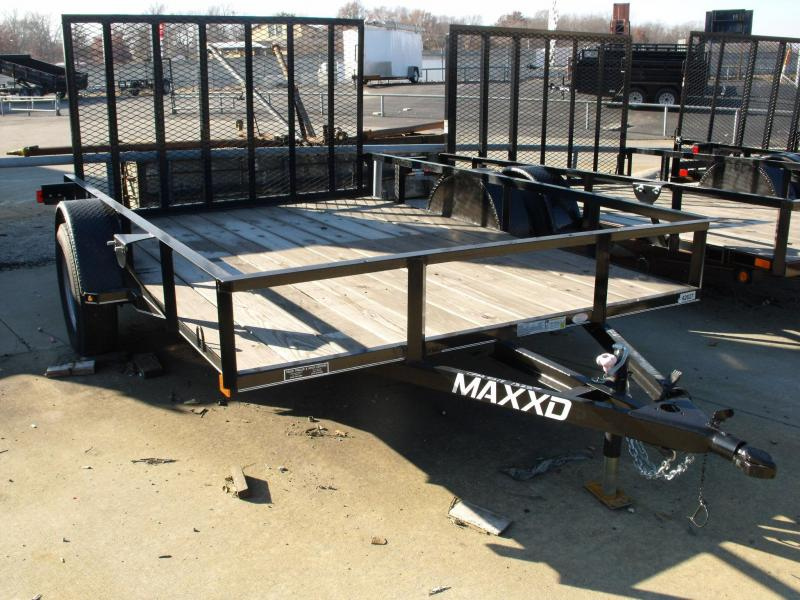 83 X 10 Utility Trailer Front & Rear Folding Gate MAXXD (Cash Savings Option Here)