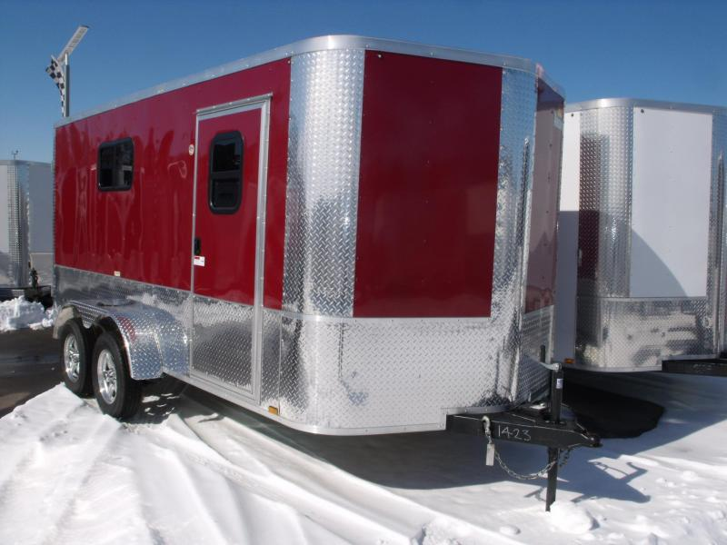 Enclosed Trailer 7 X 14 BARN DOORS 7' Interior Height ALL TUBE CONSTRUCTION