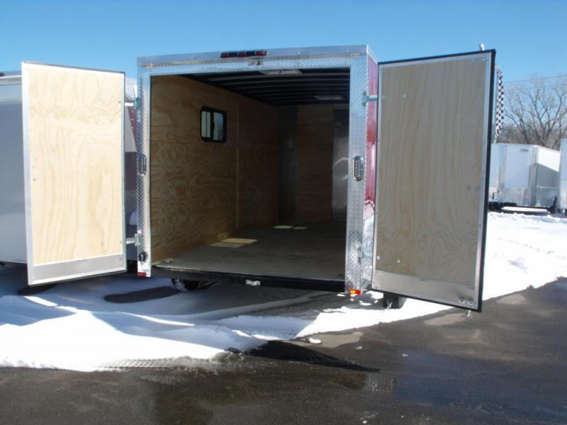 Enclosed Trailer 7 X 14 BARN DOORS ALL TUBE CONSTRUCTION