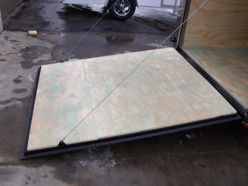 Enclosed Trailer 6 X 12 Ramp All Tube Construction