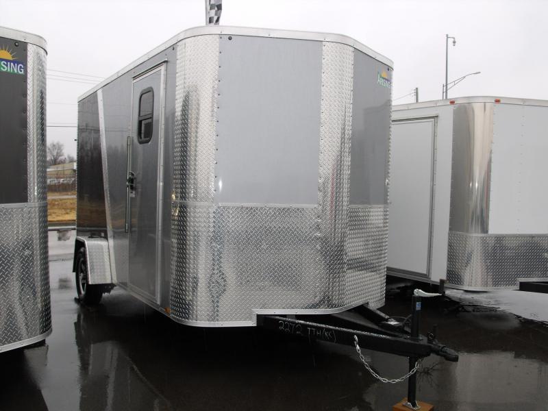 Enclosed Trailer 7 X 12 Ramp 2990 Axle 7' Interior 30AMP  ((( Panel ALL TUBE CONSTRUCTION ))) in Ashburn, VA