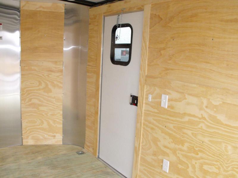 Enclosed Trailer 7 X 12 Ramp 2990 Axle 7' Interior 30AMP  ((( Panel ALL TUBE CONSTRUCTION )))