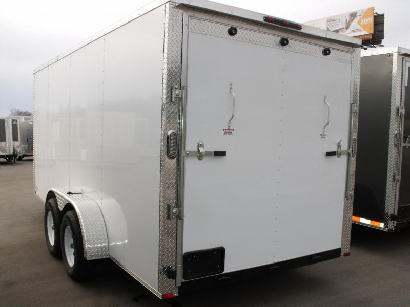 "Enclosed Trailer 7 X 16 Ramp Interior 6' 6""  ALL TUBE CONSTRUCTION  7000 GVW"