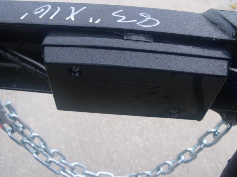 83 X 16 Utility Trailer Dove 4 WL Brakes 7000 GVW