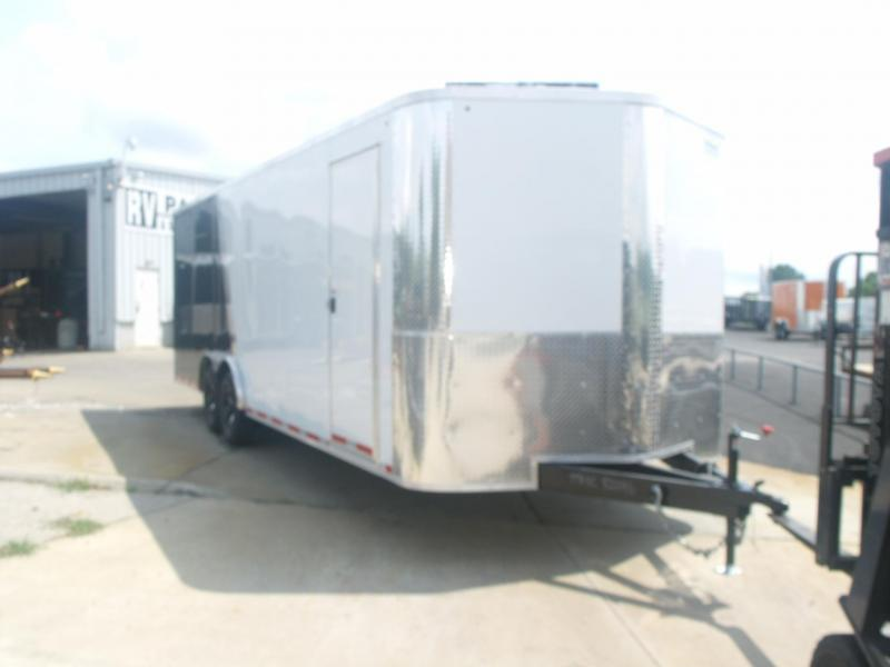 Enclosed Trailer 8.5 X 24 Ramp 7' Height ACP Composite Panels