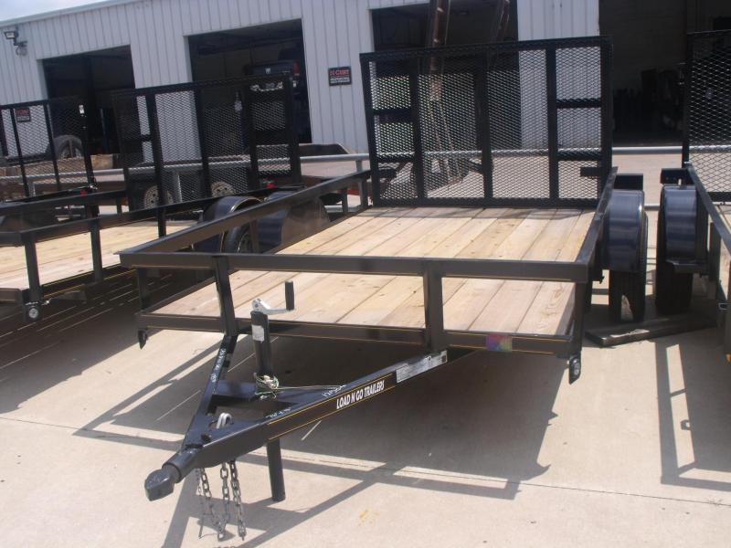 Utility Trailer 76 X 10 Ramp 2990 # Axle (((( There is a cash option here ))))